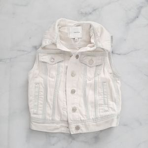 Aritzia Talula Atami Denim Vest Size XS